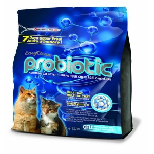 PESTELL Easy Clean Żwirek Sodowy Probiotic 5kg