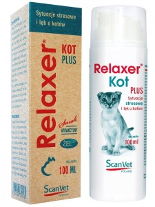 Relaxer kot PLUS 100ml