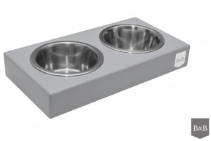 BOWL AND BONE Miska DUO grey