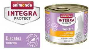 Animonda Integra Protect Diabetes Cukrzyca drób 200g