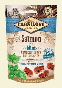 Carnilove Crunchy Snack Salmon & Mint With Fresh Meat 50g